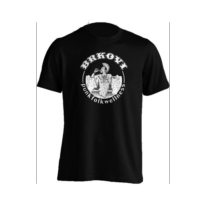 Brkovi Punk folk wellness majica logo